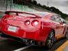 The 2013 Nissan GT-R at Sportsland Sugo Circuit Murata City in Miyagi Prefecture, Japan.