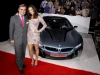 Ludwig Willisch (CEO and President BMW North America) and Paula Patton