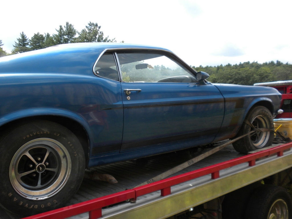 1969 ford boss 302 mustang fastback 95