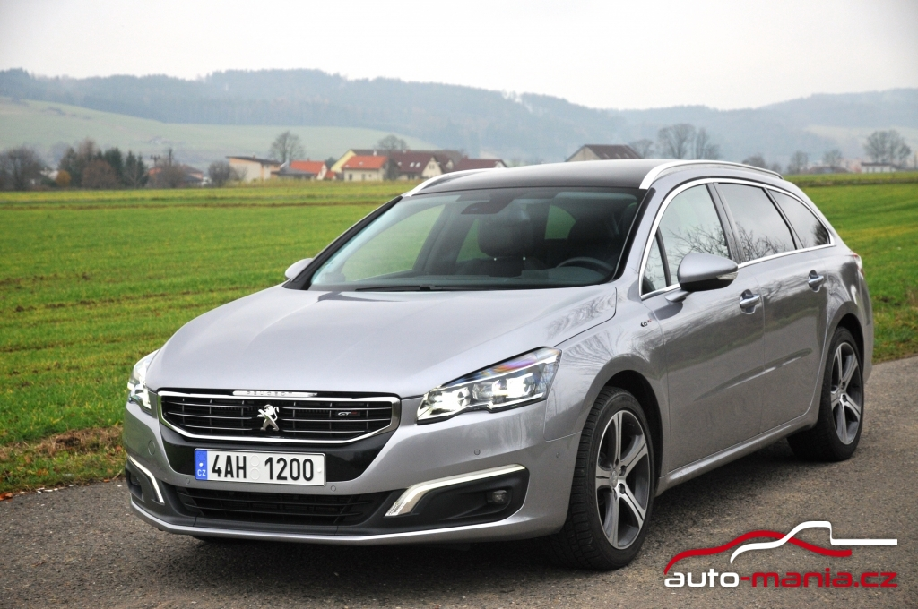 test peugeot 508 sw gt 2 2 hdi at. Black Bedroom Furniture Sets. Home Design Ideas