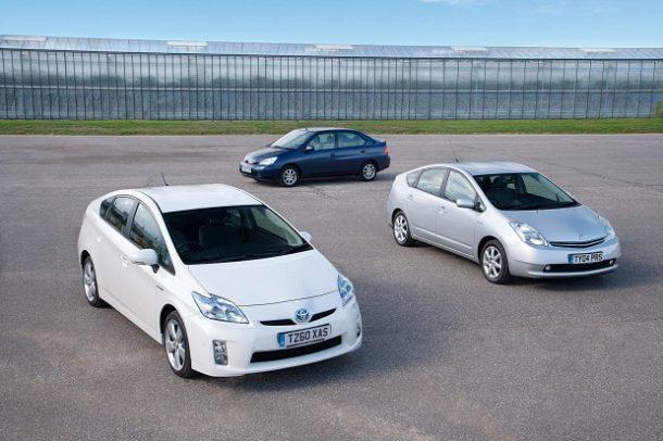 Toyota Prius generace
