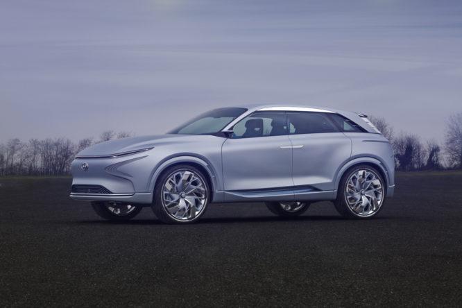 Hyundai Motor na Ženevském autosalonu odhaluje koncept snovou generací palivových článků