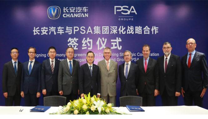 PSA a ChangAn Automobile prodlužují spolupráci