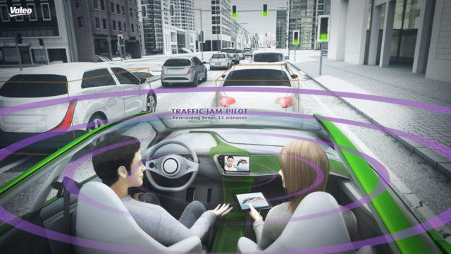 Valeo Intuitive Driving vision illustration