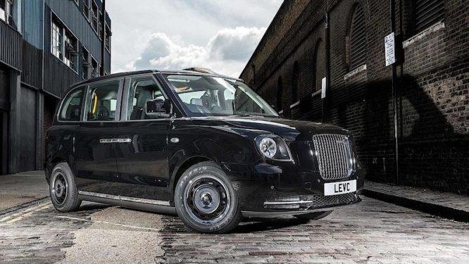 LEVC TX je nový londýnský taxík, jezdí na elektřinu