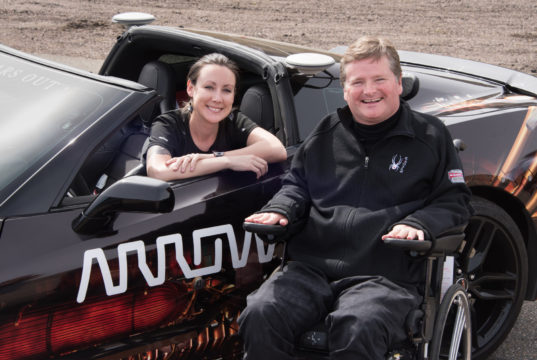 Sam Schmidt Chevy Corvette