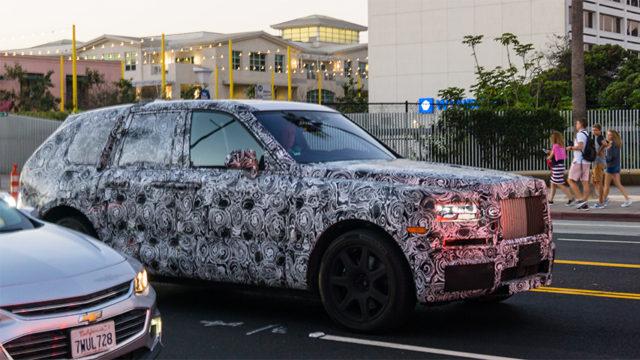 Rolls Royce Testuje Sv 233 Nov 233 Quot Suv Quot Na Nurburgringu I V