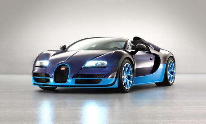 Špatně nandaná střecha na Bugatti a pánské přirození. I to se ve světě aut děje