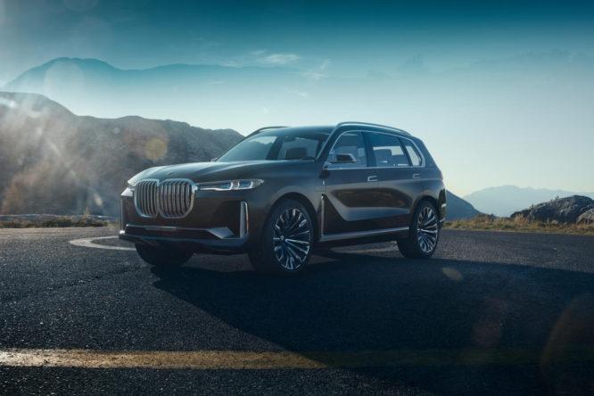 BMW Concept X7 iPerformance se představuje, naživo se ukáže ve Frankfurtu
