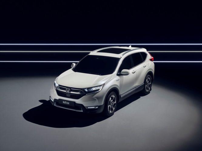 Honda představí ve Frankfurtu CR-V shybridním pohonem, naftový motor nedostane