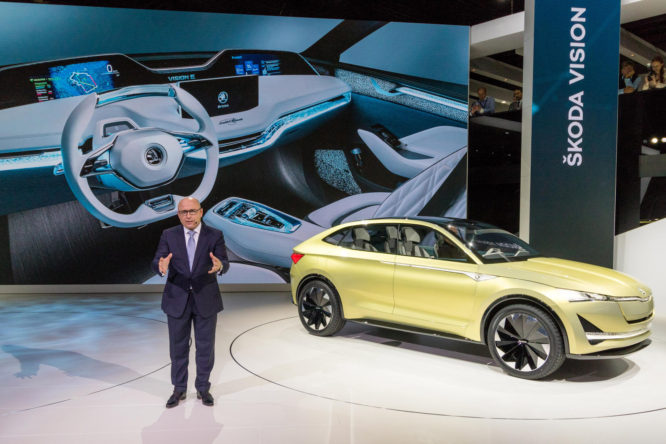 Škoda na IAA 2017 ve Frankfurtu: Tři atraktivní SUV a studie Škoda Vision E
