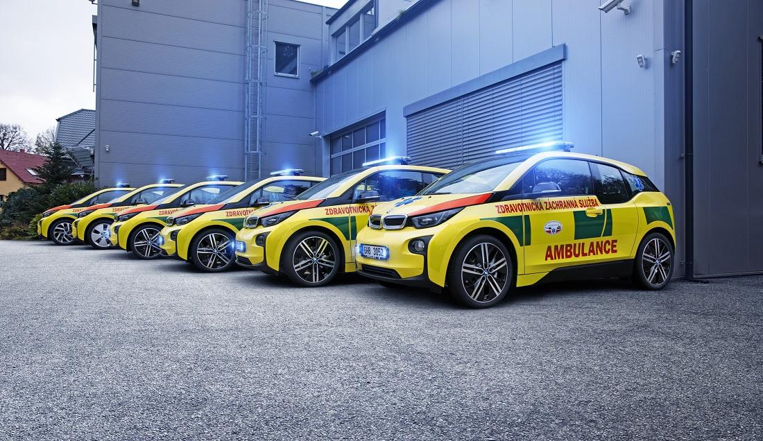 BMW i3 ambulance