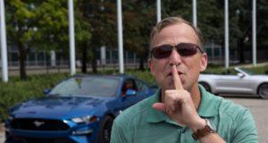 Ford Mustang je první automobil, který umožňuje plánovat hlasitost zvuku motoru podle denní doby