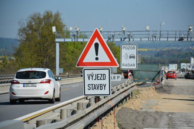 měření rychlosti dálnice D1