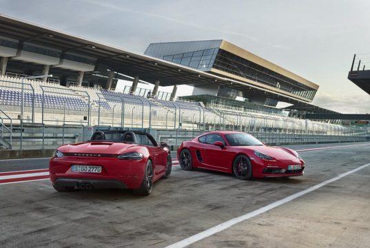 Porsche 718 Boxster GTS a 718 Cayman GTS