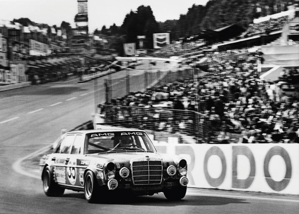 AMG 300 SEL 6.8 racing tourer, Spa-Francorchamps (1971)