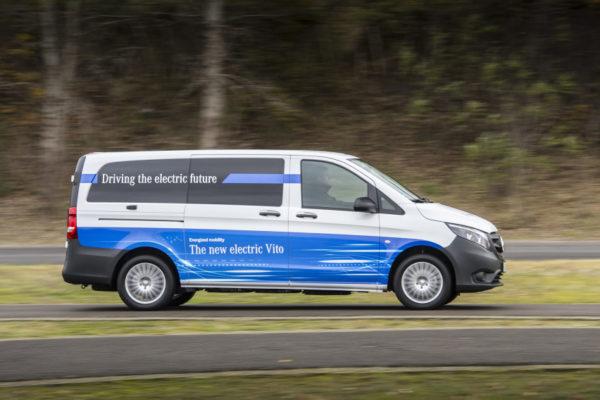 Mercedes-Benz eVito elektromobil