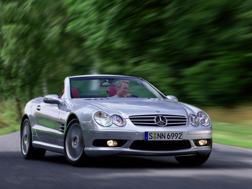 Mercedes-Benz SL 55 AMG (2005)