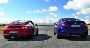 sprint-zavod-Porsche_911_GTS_a_BMW_M4_CS