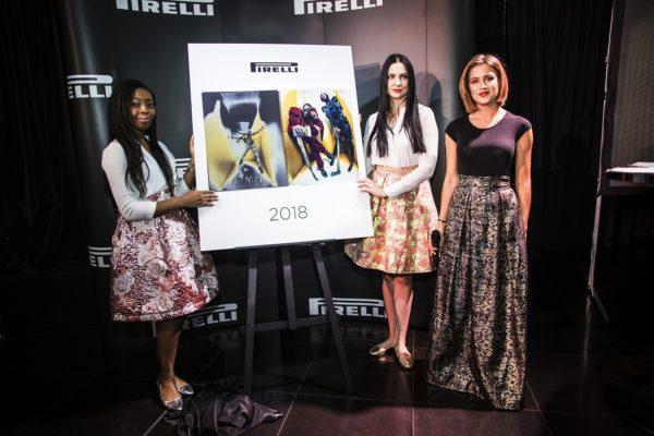 pirelli kalendář 2018