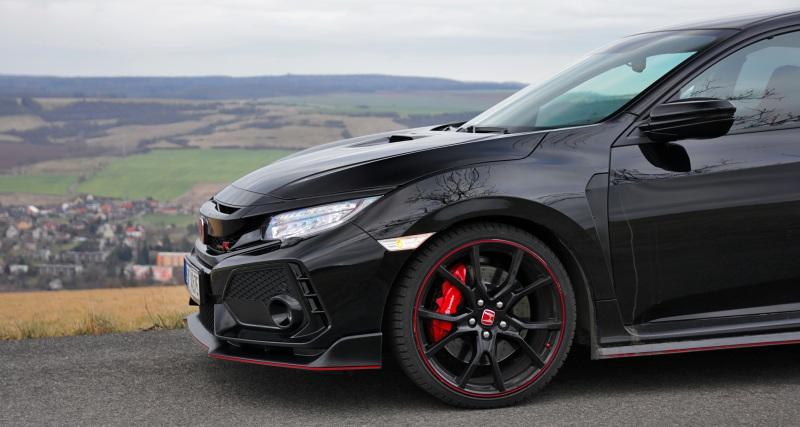 Test Honda Civic Type R (2017)