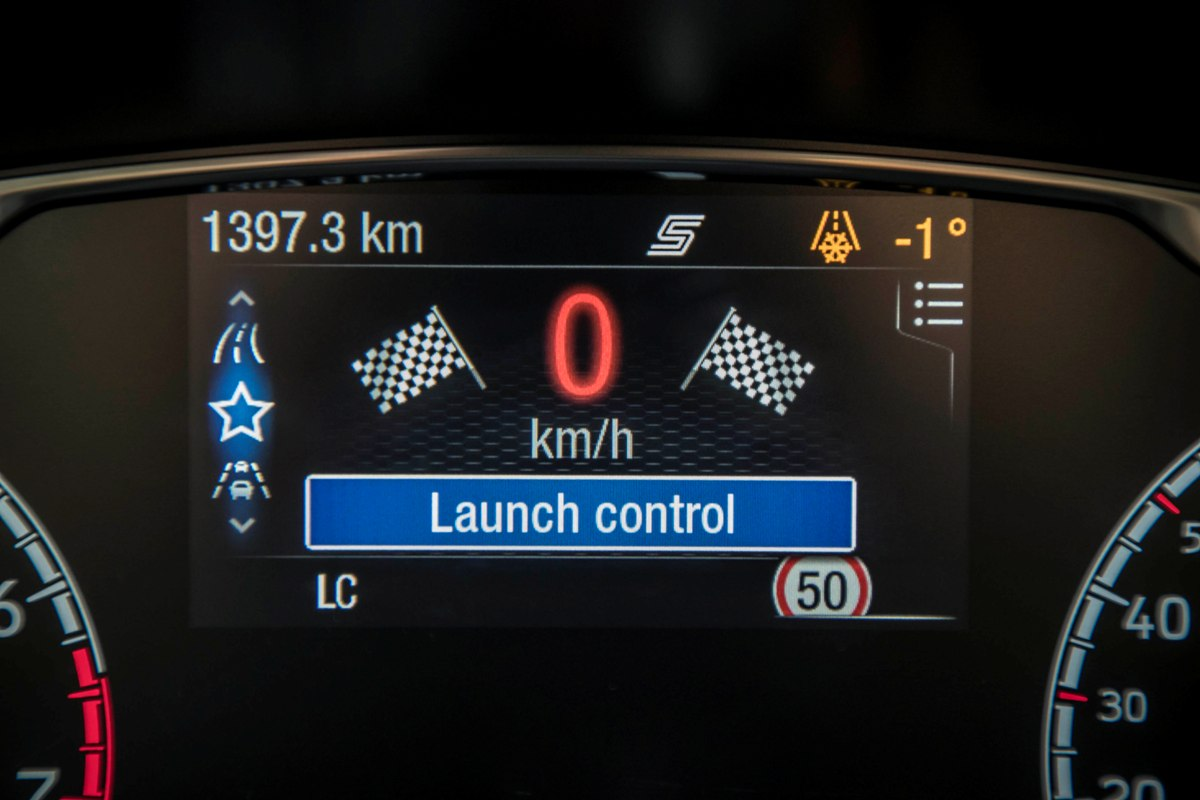 2018 ford fiesta st launch control