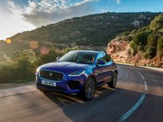 Jaguar E-PACE global media drive, Corsica 2018