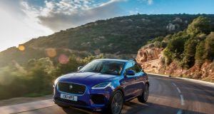 Jaguar E-PACE global media drive, Corsica 2018