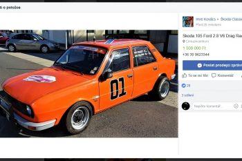 skoda-105s-motor-v6-ford-inzerat-facebook