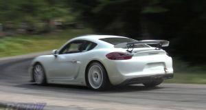 Porsche Cayman GT4 Clubsport video