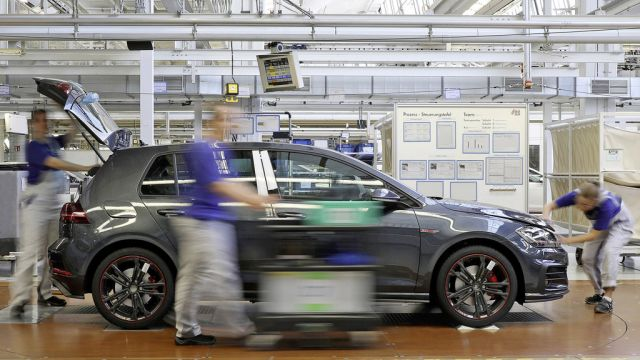 Volkswagens main plant in Wolfsburg wins the Automotive Lean