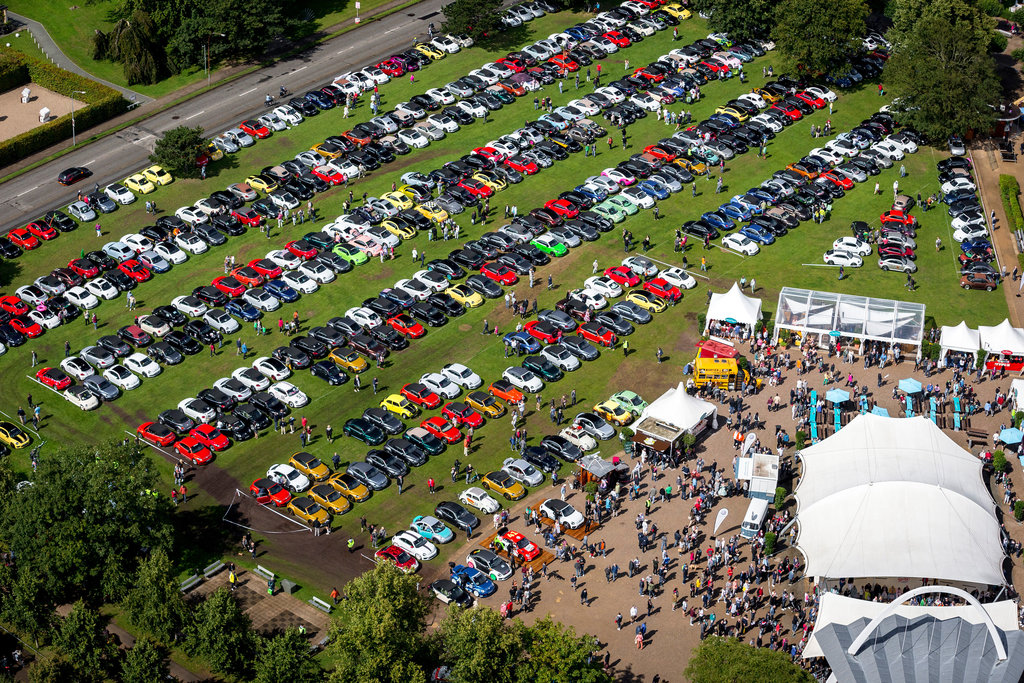 Each year the Beetle Sunshine Tour grows larger and more colorful.