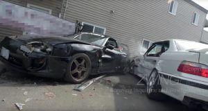 nehoda-bmw-m3-e36-toyota-supra-video