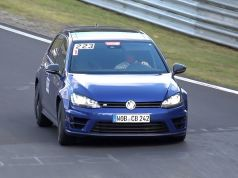 spy video volkswagen golf r nurburgring