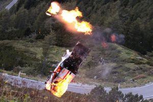 Drsná nehoda z rallye vám vysvětlí, proč je bezpečnostní rám nutností
