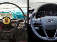 evoluce volantu seat
