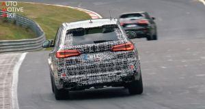 bmw x5 m testovani nurburgring
