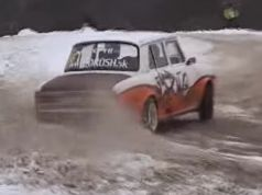 skoda-100-drift-snih-video