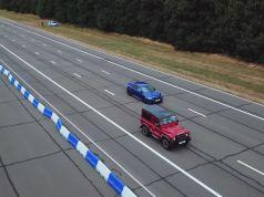 sprint-land-rover-defender-works-v8-a-honda-civic-type-r-video