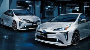 TRD připravilo tuningový balíček pro Toyotu Prius hybrid