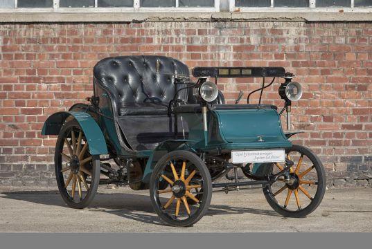 1899 Opel Patentmotorwagen System Lutzmann - Opel Classic Collection