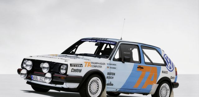 Volkswagen Golf Mk2 GTI Group A (1986)