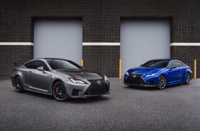 2019 Lexus RC F facelift