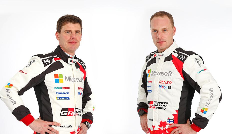 Miikka Anttila a Jari-Matti Latvala