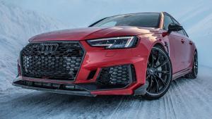 ABT poslal svou parádně upravenou Audi RS 4 do zasněžených hor