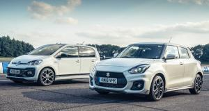 Sprint Volkswagen up! GTI a Suzuki Swift Sport