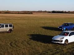 porsche-cayenne-turbo-range-rover-sport-svr-mercedes-amg-g-63-4matic-sprint-video