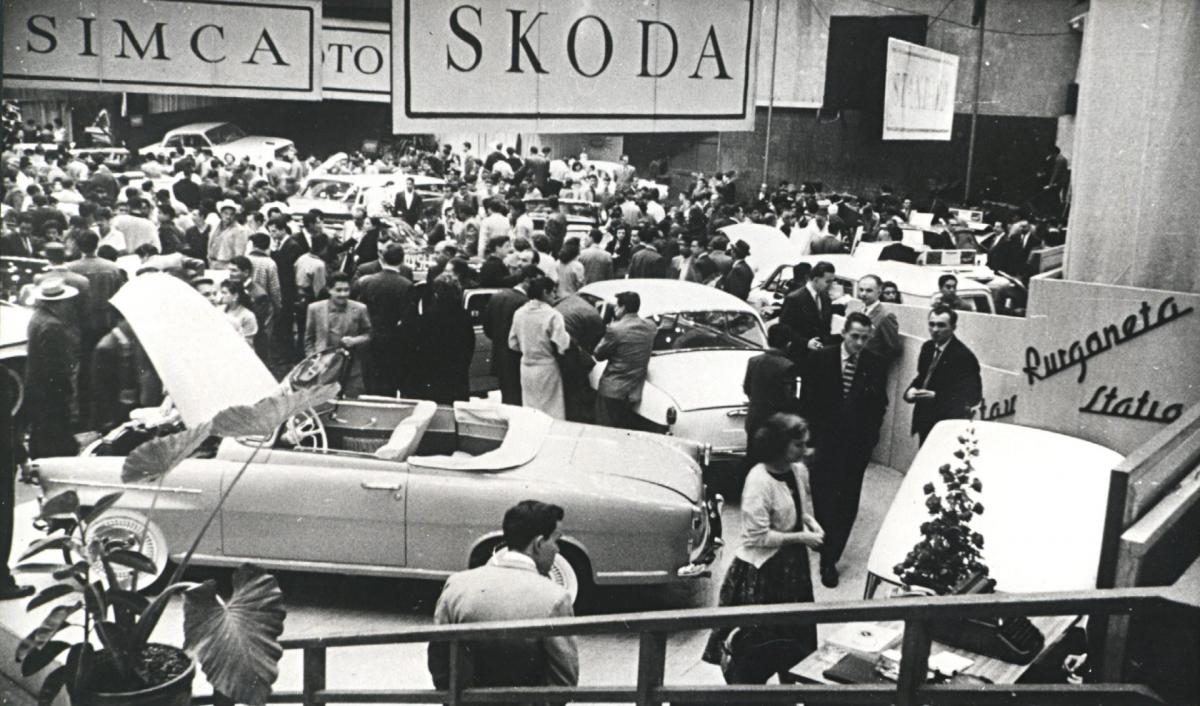 ŠKODA FELICIA v Mexico City (1960)