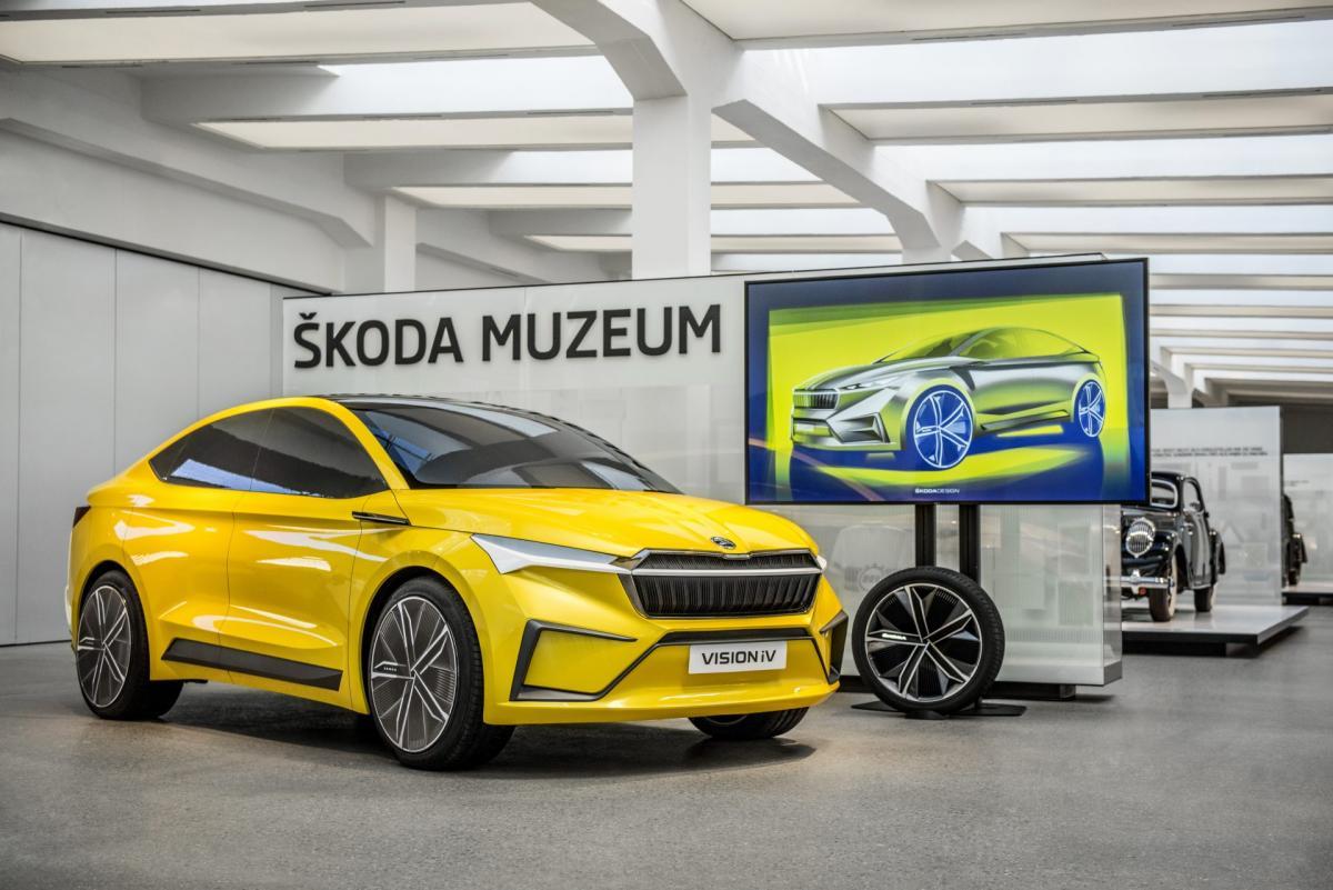 Hlineny-model-konceptu-SKODA-VISION-iV-muzeum