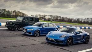 Dva Davidové proti jednomu Goliáši. Top Gear porovnal Audi, Porsche a Mercedes-Benz